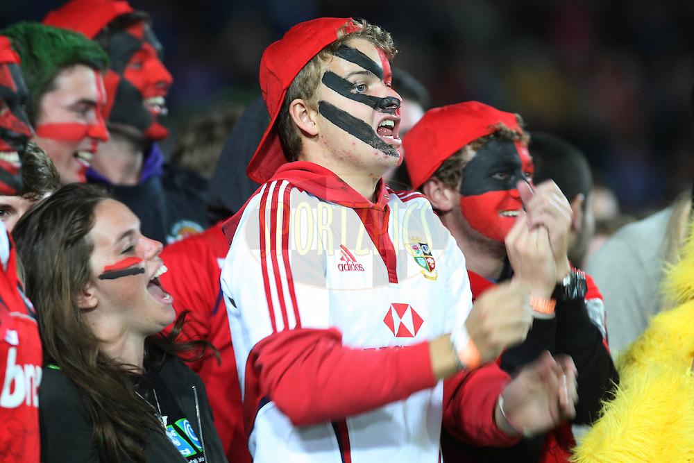 Crusaders fans.Crusaders v Highlanders, Investec Super Rugby, Trafalgar Park, Nelson. 23 April 2011. Photo: Evan Barnes/photosport.co.nz