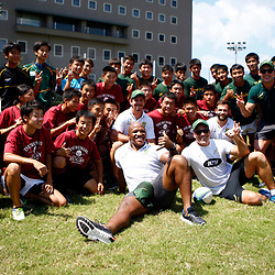 11,09,2019 South Africa: Springbok coaching clinic in Kagoshima