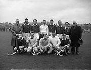 15/02/1958<br /> 02/15/1958<br /> 15 February 1958<br /> Hockey: Interprovincial, Munster v Ulster at Londonbridge Road, Ringsend, Dublin. The Munster team.