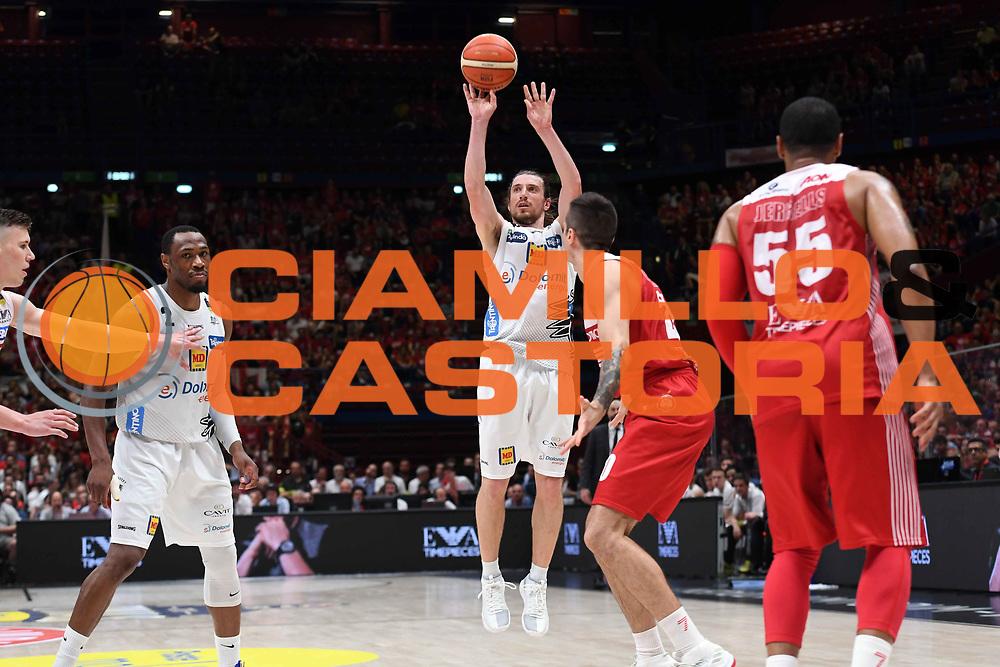 Toto Forray<br /> EA7 Emporio Armani Olimpia Milano - Dolomiti Energia Trentino<br /> Playoff - Finale - Gara 1<br /> LegaBasket Serie A 2017/2018<br /> Milano, 05/06/2018<br /> Foto M.Ceretti / Ciamillo-Castoria