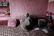 Raja ( 65 ), Half Widows..Abdul Raheem Rathore, he was 45 years old when he was kidnapped in his house ( 1995 ), Pattan, Kashmir 2011.