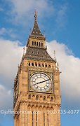 image of Elizabeth tower also known as Big Ben in London, England.