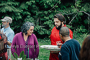 Secret Supper Club, full moon 5 course Paleo Garden dinner