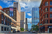 View of buildings in downtown Columbus, Ohio