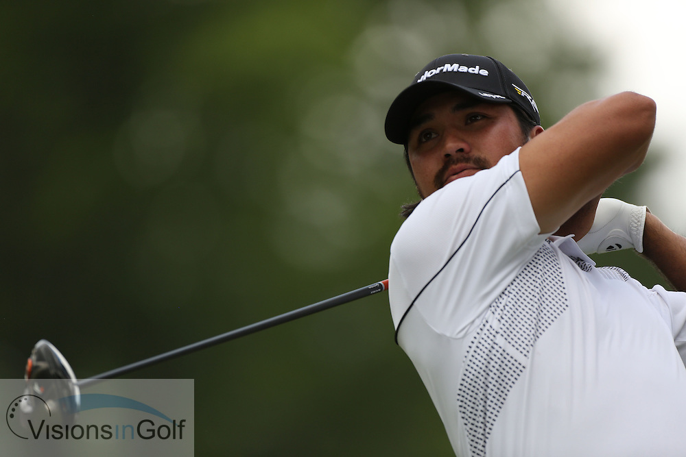 Jason Day<br /> on the first day at the US Open Championship, Merion East, PA. USA 2013 <br /> Picture Credit:  Mark Newcombe / visionsingolf.com