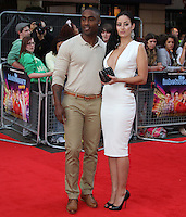 Simon Webb; Maria Koukas The Inbetweeners Movie world premiere, Vue Cinema, Leicester Square, London, UK, 16 August 2011:  Contact: Rich@Piqtured.com +44(0)7941 079620 (Picture by Richard Goldschmidt)