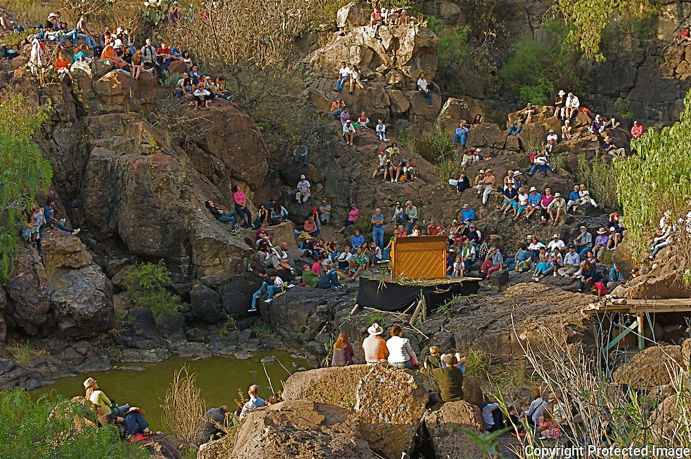 The Festival of the Sun and  Rebirth was celebrated in the unusual, natural setting of El Charco's Canyon in San Miguel de Allende Mexico. During the festival Dr.Tsalka performed a piano concert playing  works by Mozart,Schubert,Chopin,Liszt,Ullmann and Eric Satie.