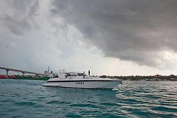 Boat in the Bahamas.