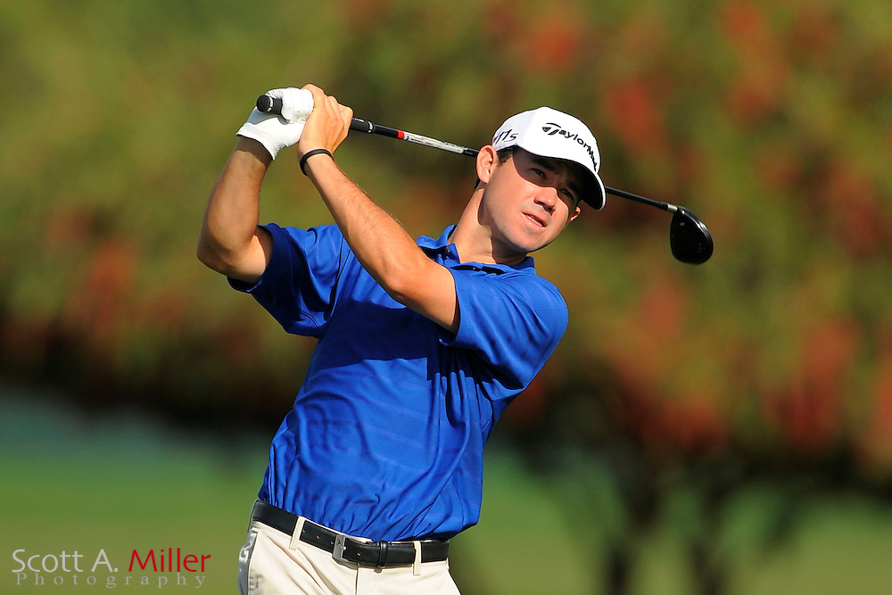 Brian Harmon during the second round of the Honda Classic at PGA National on March 2, 2012 in Palm Beach Gardens, Fla. ..©2012 Scott A. Miller.
