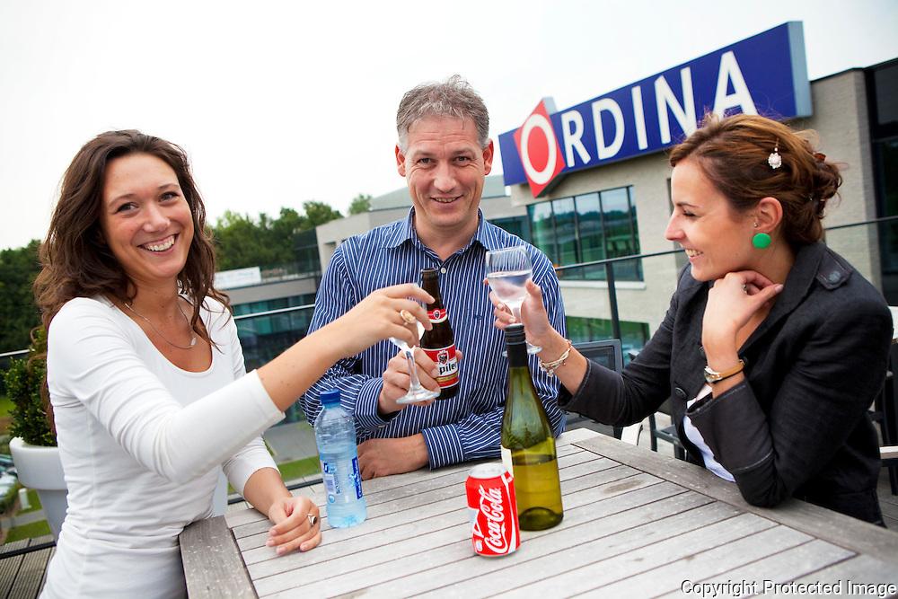 359576-Zomerterras op het dak van Ordina-Blarenberglaan 3b Mechelen-Danni Cassauwers, Frank Apers en Elly De Bruyn