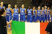 Taranto 05-06-2011<br /> Qualifying Tournament Eurobasket Women 2011<br /> Italia-Germania<br /> Nella foto la squadra <br /> Foto di Ciamillo-Castoria