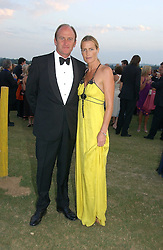 DAVID FLINT WOOD and INDIA HICKS at the Cowdray Gold Cup Golden Jubilee Ball held at Cowdray Park Polo Club, on 21st July 2006.<br /><br />NON EXCLUSIVE - WORLD RIGHTS
