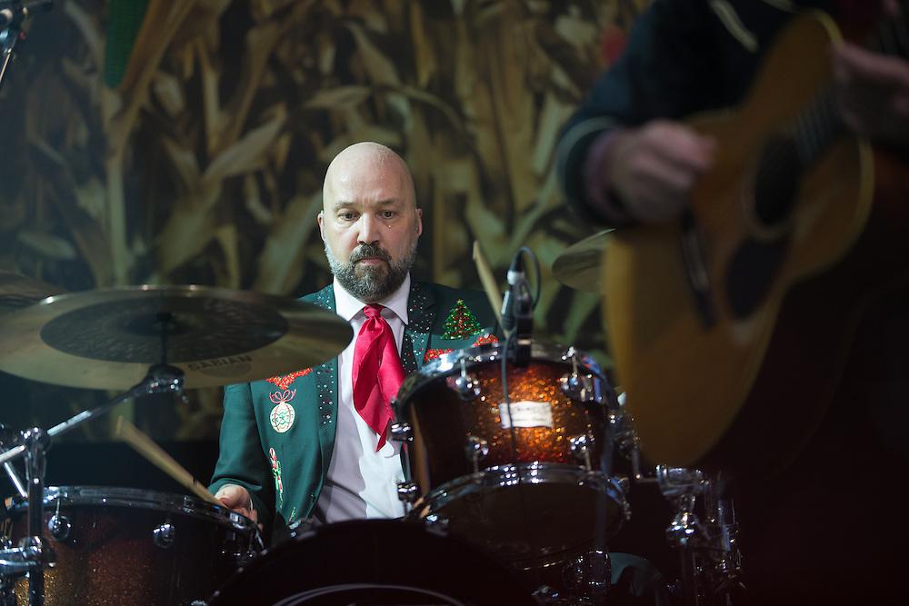 Tom Van Schaik. Robert Earl Keen and the Robert Earl Keen Band live in concert at the ACL Live Moody Theater in Austin, Texas, Saturday, December 19 2015. Photograph © 2015 Darren carroll