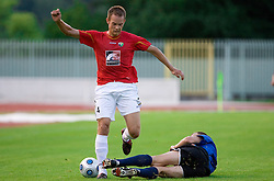 Tuomas Marko Kolsi of Rudar at 1st Round of Europe League football match between NK Rudar Velenje (Slovenia) and Trans Narva (Estonia), on July 9 2009, in Velenje, Slovenia. Rudar won 3:1 and qualified to 2nd Round. (Photo by Vid Ponikvar / Sportida)