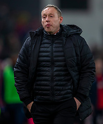 STOKE-ON-TRENT, ENGLAND - Saturday, January 25, 2020: Swansea City's manager Steve Cooper after the Football League Championship match between Stoke City FC and Swansea City FC at the Britannia Stadium. Swansea City lost 2-0. (Pic by David Rawcliffe/Propaganda)