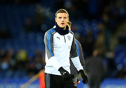 Jamie Vardy of Leicester City - Mandatory by-line: Robbie Stephenson/JMP - 16/01/2018 - FOOTBALL - King Power Stadium - Leicester, England - Leicester City v Fleetwood Town - Emirates FA Cup third round proper