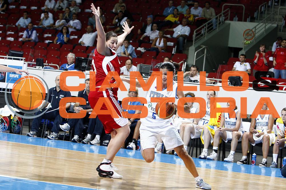 DESCRIZIONE : Riga Latvia Lettonia Eurobasket Women 2009 Qualifying Round Italia Turchia Italy Turkey<br /> GIOCATORE : Mariachiara Franchini<br /> SQUADRA : Italia Italy<br /> EVENTO : Eurobasket Women 2009 Campionati Europei Donne 2009 <br /> GARA : Italia Turchia Italy Turkey<br /> DATA : 12/06/2009 <br /> CATEGORIA : palleggio<br /> SPORT : Pallacanestro <br /> AUTORE : Agenzia Ciamillo-Castoria/E.Castoria<br /> Galleria : Eurobasket Women 2009 <br /> Fotonotizia : Riga Latvia Lettonia Eurobasket Women 2009 Qualifying Round Italia Turchia Italy Turkey<br /> Predefinita :