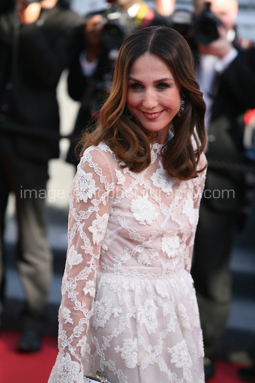 Elsa Zylberstein at the 'Nebraska' film gala screening at the Cannes Film Festival Thursday 23rd May 2013