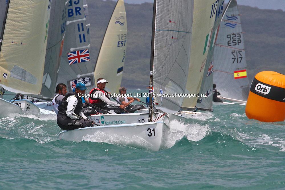 Race 7 Finn Gold Cup Takapuna