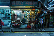 Street scene, Kowloon, Hong Kong. November 2015. Photograph ©2015 Darren carroll