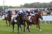 Hamada ridden by jockey William Buick and trained by trainer Charlie Appleby winning the The Sky Bet Jorvik Handicap Stakes over 1m 4f (£50,000) at the York Dante Meeting at York Racecourse, York, United Kingdom on 16 May 2018. Picture by Mick Atkins.