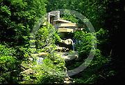 Fallingwater, Frank Lloyd Wright Architect, Kauffman House, Fayette Co., Pittsburgh PA