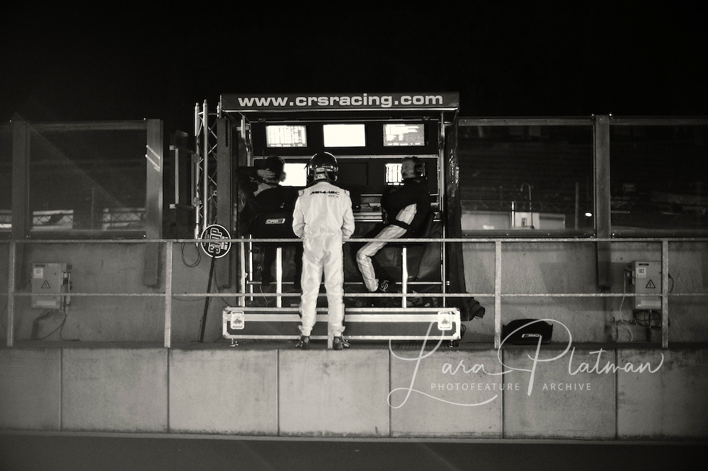 Spa 24 Hours 2011 through the night In the Pit Lane