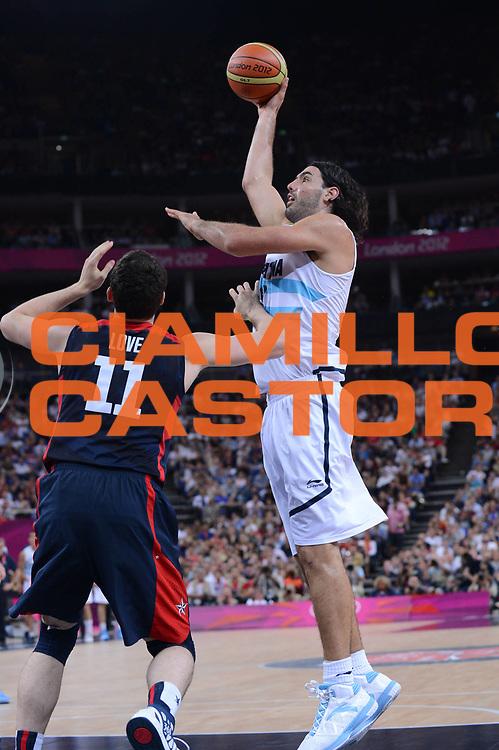 DESCRIZIONE : London Londra Olympic Games Olimpiadi 2012 Men Semifinal Argentina USA<br /> GIOCATORE : Luis Scola<br /> CATEGORIA :<br /> SQUADRA : Argentina<br /> EVENTO : Olympic Games Olimpiadi 2012<br /> GARA : Argentina USA<br /> DATA : 10/08/2012<br /> SPORT : Pallacanestro <br /> AUTORE : Agenzia Ciamillo-Castoria/M.Marchi<br /> Galleria : London Londra Olympic Games Olimpiadi 2012 <br /> Fotonotizia : London Londra Olympic Games Olimpiadi 2012 Men Semifinal Argentina USA<br /> Predefinita :