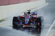 Daniil Kwjat during Formula One testing at Circuit de Catalunya, Barcelona<br /> Picture by EXPA Pictures/Focus Images Ltd 07814482222<br /> 02/03/2017<br /> *** UK &amp; IRELAND ONLY ***<br /> EXPA-EIB-170302-0468.jpg