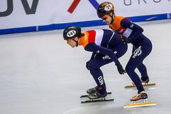 12-01-2018 DUI: ISU European Short Track Championships 2018 day 1, Dresden<br /> Jorien ter Mors NED #141, Yara van Kerkhof NED #21