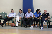 DESCRIZIONE : Roma Centro CONI Giulio Onesti Raduno Collegiale<br /> GIOCATORE : Marco Calvani Luca Banchi Sandra Palombarini Giampero Ticchi<br /> SQUADRA : Nazionale Italia Uomini<br /> EVENTO : Raduno Collegiale Nazionale Italiana Maschile<br /> GARA : <br /> DATA : 21/07/2010 <br /> CATEGORIA : allenamento<br /> SPORT : Pallacanestro <br /> AUTORE : Agenzia Ciamillo-Castoria/ElioCastoria<br /> Galleria : Fip Nazionali 2010 <br /> Fotonotizia : Roma Centro CONI Giulio Onesti Raduno Collegiale<br /> Predefinita :