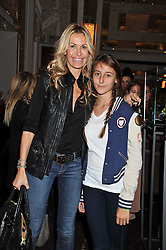 MELISSA ODABASH and her daughter ALAIA DE SANTIS at the launch of Stephen Webster Bijoux Tea held at the Langham Hotel, Portland Place, London on 13th September 2011.