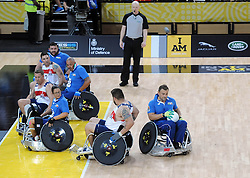 USA v Italy - Photo mandatory by-line: Joe Meredith/JMP - Mobile: 07966 386802 - 12/09/2014 - The Invictus Games - Day 2 - Wheelchair Rugby - London - Copper Box Arena