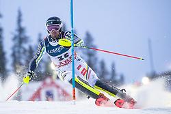 11.02.2019, Aare, SWE, FIS Weltmeisterschaften Ski Alpin, alpine Kombination, Herren, Slalom, im Bild Alexander Koell (SWE) // Alexander Koell of Sweden reacts after the Slalom competition of the men's alpine combination for the FIS Ski World Championships 2019. Aare, Sweden on 2019/02/11. EXPA Pictures © 2019, PhotoCredit: EXPA/ Johann Groder