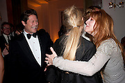 ARPAD BUSSON; LAURA BAILEY; CHARLOTTE TILBURY, Harper's Bazaar Women Of the Year Awards 2011. Claridges. Brook St. London. 8 November 2011. <br /> <br />  , -DO NOT ARCHIVE-© Copyright Photograph by Dafydd Jones. 248 Clapham Rd. London SW9 0PZ. Tel 0207 820 0771. www.dafjones.com.