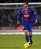 Photo: Chris Ratcliffe.<br />Crystal Palace v Wolverhampton Wanderers. Coca Cola Championship. 10/12/2005.<br />Tony Popovic, captain of Palace, who will play for Australia against Brazil in the World Cup