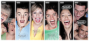 Sony Bravia Posters of young people watching TV