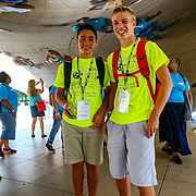 Camp Cardinal Explorers visit Millennium Park during RBC 2016 Chicago. Photo by Alabastro Photography.