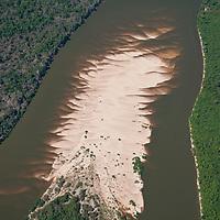 Vista aerea do Rio do Coco, Parque Estadual do Cantao, Caseara, Tocantins, Brasil, foto de Ze Paiva, Vista Imagens.