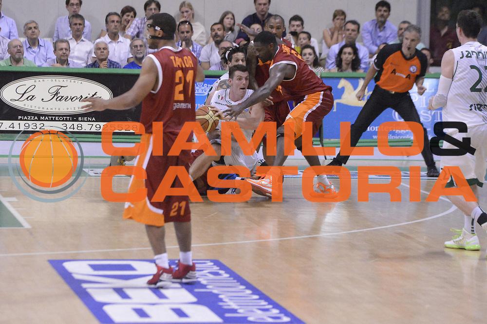 DESCRIZIONE : Roma Lega A 2012-2013 Montepaschi Siena Acea Roma playoff finale gara 4<br /> GIOCATORE : Benjamin Ortner<br /> CATEGORIA : Equilibrio Controcampo Sequenza<br /> SQUADRA : Montepaschi Siena<br /> EVENTO : Campionato Lega A 2012-2013 playoff finale gara 4<br /> GARA : Montepaschi Siena Acea Roma<br /> DATA : 17/06/2013<br /> SPORT : Pallacanestro <br /> AUTORE : Agenzia Ciamillo-Castoria/GiulioCiamillo<br /> Galleria : Lega Basket A 2012-2013  <br /> Fotonotizia : Roma Lega A 2012-2013 Montepaschi Siena Acea Roma playoff finale gara 4<br /> Predefinita :