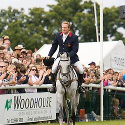 Oliver Townend at Burghley Horse Trials, Stamford, Lincolnshire, UK  September 2009
