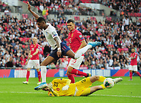 Football - 2018 / 2019 UEFA European Championships Qualifier - Group A: England vs. Bulgaria<br /> <br /> Marcus Rashford of England has his shot saved by goalkeeper, Plamen Iliev  at Wembley Stadium.<br /> <br /> COLORSPORT/ANDREW COWIE