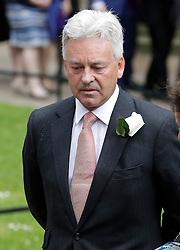 © Licensed to London News Pictures. 20/06/2016. London, UK. ALAN DUNCAN MP arrives at St Margaret's Church, Westminster Abbey to take part in a Service of Prayer and Remembrance to commemorate Jo Cox MP, who was killed in her constituency on June 16, 2016. Photo credit: Peter Macdiarmid/LNP