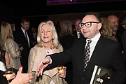 LIZ BREWER; JONATHAN SHALIT; , Bonhams host a private view for their  forthcoming auction: Jackie Collins- A Life in Chapters' Bonhams, New Bond St.  3 May 2017.