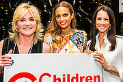 Anthea Turner, Alesha and Andrea Maclean - Alesha Dixon launches Children United and the &ldquo;We Are The Children United&rdquo; single. Alesha is the most well-known name on the single, the first voice you hear on the song is that of 12-year-old Patience who lives in a children&rsquo;s home in Uganda after losing most of her family to AIDS. The pair are joined by thousands more children from countries as far flung as Kenya, Australia, India, USA, Uganda, The Netherlands and Norway who all feature on the Children United single. More countries and more children are joining the &ldquo;world&rsquo;s biggest pop group&rdquo; every day and posting their recordings on YouTube. The song was written by Barney Cox and produced by Nigel Wright.<br /> Around 10,000 children&rsquo;s voices are on the song including 6,500 children from the Voice In A Million choir<br /> who performed the song live at Wembley with Alesha in March.<br /> <br /> Children United is an online platform which will bring children together from across the globe to discuss the issues that matter to them, and provide them with the opportunity to have their voices heard. The three founding partner organisations are First News, Achievement for All, and Skoolbo. They have been working with Microsoft to support the web development and integration of Skype technology that will connect children across the world in face-to-face conversations. Save the Children are the charity&rsquo;s key NGO partner.<br /> <br /> The Children United website, which encourages children around the world to &ldquo;join-up&rdquo; and be heard, opens for<br /> registration on Wednesday (15 April) and goes fully live and interactive in September. The site will be moderated<br /> by schools around the world to ensure a secure environment for children to talk to each other safely.