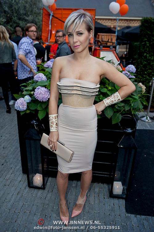 NLD/Amsterdam/20110825 - Uitreiking Jackie's Best Dressed List 2011, Victoria Koblenko