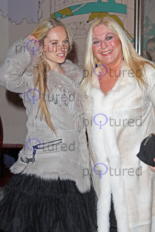 LONDON - January 29: Vanessa Feltz & Allegra Kurer at the Costa Book of the Year Awards (Photo by Brett D. Cove)