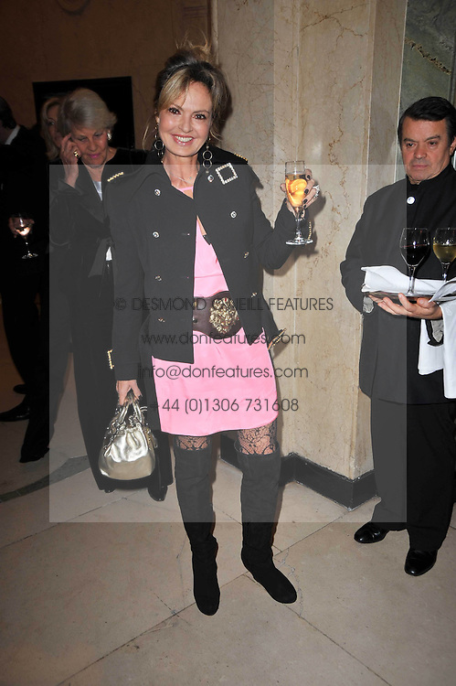 COUNTESS MAYA VON SCHONBURG at a party to celebrate the publiction of 'No Invitation Required' by Annabel Goldsmith, held at Claridge's, Brook Street, London on 11th November 2009.