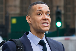 © Licensed to London News Pictures. 08/01/2019. London, UK. Labour Party leadership contender Clive Lewis walks outside The Houses of Parliament. Photo credit: George Cracknell Wright/LNP