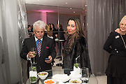 SUHEL SETH; RADUKA  CHANANA; , Liberatum host A special 'In Conversation' event Courtney Love with Dylan Jones, As part of the Liberatum 'Women in Creativity' series<br /> St. Martins Lane hotel, London. 21st March 2016